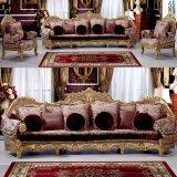 居間の家具のための木のソファーはセットした(962A)