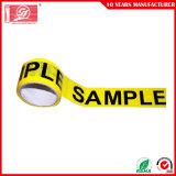 La vente directe Cheap personnalisée en usine BOPP l'emballage de la bande avec logo imprimé
