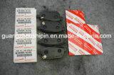 Stootkussen 04466-12130 van de Rem van de Schijf van de fabriek voor Toyota