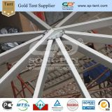 20m Decagon retardante de fogo da Estrutura de alumínio do armazenamento temporário de lona para venda