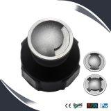 2W LED IP67 caja de acero inoxidable de la luz del piso, Metro Iluminación, Luz de cubierta