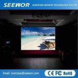 Haute luminosité P6mm Affichage LED extérieur fixe pour la publicité et même