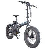 fettes elektrisches Fahrrad des schwanzloser des Motor350w Gummireifen-20*4.0