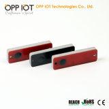 etiquetas antis del metal de la frecuencia ultraelevada del orificio RFID de 2m m de la prueba pasiva del agua