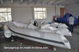 Bateaux gonflables de coque de fibre de verre de la CE de bateau de côte de Liya 11feet