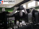 Plastikstrangpresßling-durchbrennenformenmaschine