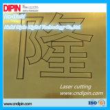 Gloosy, matte, balai, en bois métalliques, configuration, desserrant feuille extérieure de couleur de gravure la double pour la gravure et le découpage de laser