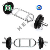 Gimnasio Body Solid Barbell Tricep ronda de la barra de bar