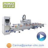 4 CNC van het Profiel van het Aluminium van de Uitdrijving van de as de Machine van het Malen