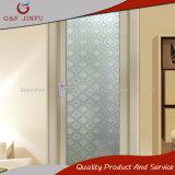 Puertas de entrada esmaltadas doble de aluminio del cuarto de baño del perfil