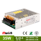 Neue Stromversorgung des Entwurfs-35W 5V7a Switiching mit Cer RoHS