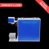 Macchina per incidere della marcatura del laser della fibra di colore dell'acciaio inossidabile dell'unità 20W di Poartable Mopa