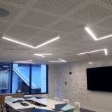 Luz linear de aluminio del sistema LED de la luz del enlace del perfil