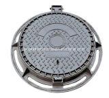 フレーム(DN600)が付いている円形の延性がある鋳鉄D400のマンホールカバー