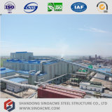 Sinoacmeは重い鉄骨構造の製鉄所を組立て式に作った