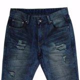 Pantalones vaqueros Pocket del dril de algodón de los hombres de la alta calidad cinco (5652)