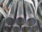 BS1387 As extremidades rosqueadas Bsp Padrão de ambas as extremidades do tubo de aço galvanizado para transferência de água