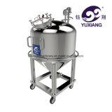 液体およびクリームのための100L真空のHomogenizousの乳状になる機械装置