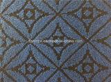 La aguja de Jacquard Nonwoven alfombra exposición perforada.