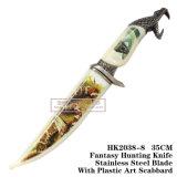 Нож 35cm выживания ножа ножей звероловства горжетки ся тактический
