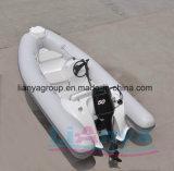 Liya 3.8m Boot van de Boot van de Rib de Opblaasbare Rubber voor Verkoop