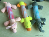 Qualität, die Plüsch Tierhaustier-Spielwaren-Hundespiel-Zubehör klingt