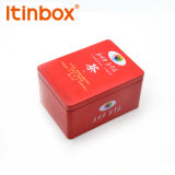 Quatre boîtes à café d'impression couleur bon marché de l'usine