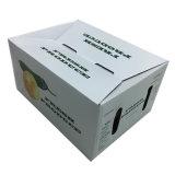 Caja de embalaje de la fruta de la impresión en color 4 para el envío