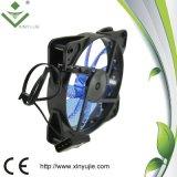 Ventilador de refrigeração rápido colorido 120X120X25 da cor verde da entrega de Xj12025 12cm