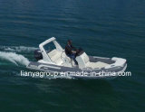 Liya 17FTの販売のための贅沢な肋骨のボートのガラス繊維の膨脹可能なボート