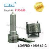 Erikc 7135-659 Injektorの弁およびノズルの修理用キット28440421 28239294 9308-621c + Ejbr02801dのためのノズルL097pbd