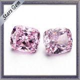 銀製の宝石類のための高品質CZの淡いピンクの総合的なダイヤモンド