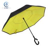 Logotipo impresso personalizado Ré guarda-chuva invertida invertida