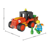 El juguete educativo más nuevo del juego creativo de Loz conecta el bloque hueco para 8 años