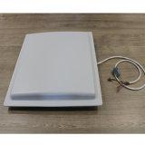 Longo alcance integrado leitor RFID UHF e suporte a RFID18000-6ISO B/C com 12dBi