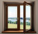 Venta de fábrica de madera maciza Casement Window