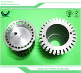 Aluminiumteil CNC-Drehbank, die, drehender CNC, CNC Prägen aufbereitet
