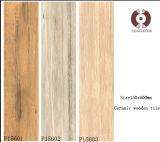 Telha de cerâmica de madeira rústica de design de moda (P15601)