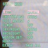 1.0 Câmera impermeável do CCTV do PM IR Ahd