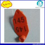 ovini di 66X34mm/bovini/modifica di orecchio di plastica identificazione del maiale