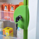 زجاجيّة باب [فيرست يد] خزانة مع [بورتبل] مقبض اللون الأخضر