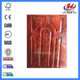 주문을 받아서 만들어진 HDF/MDF 나무로 되는 멜라민 문 피부 (JHK-MD09)