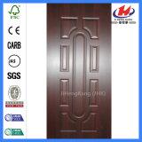 Pelle di legno laminata moderna del portello della melammina della camera da letto (JHK-012)