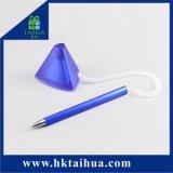 Promoção Fashion suporte para secretária caneta de mesa com fio de mola de plástico