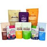 D'impression personnalisé Stand up Ziplock laminé plastique biodégradable sac pochette d'emballage pour l'alimentation