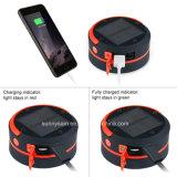 태양 야영 LED 손전등 USB 재충전용 접을 수 있는 토치 빛 휴대용 플래쉬 등 방수 손전등