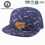 2016大きい方法帽子の綿の印刷の青い急な回復のキャンピングカーの帽子