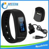 Encanto personalizados/Sport Bangle Fitness Silicon/Silicone Vigilância USB Bluetooth Bracelete inteligente