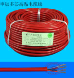 Ygcp 2 Core Silicone Copper Multi Strand Round Flexible Cable