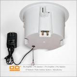 Haut-parleurs blancs en plastique de Bluetooth de support de plafond d'ABS rond d'intérieur